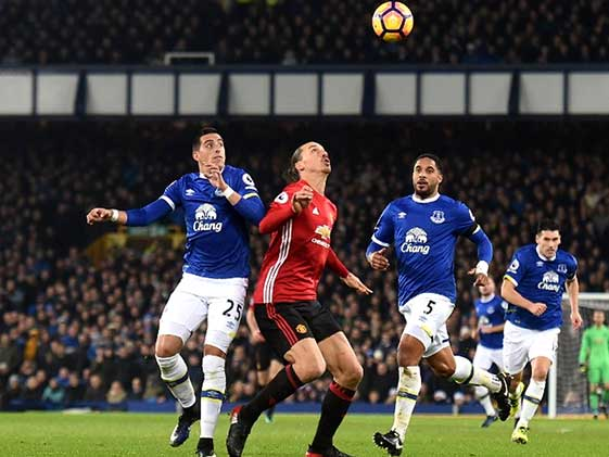 Everton Deny Manchester United Win At Goodison Park