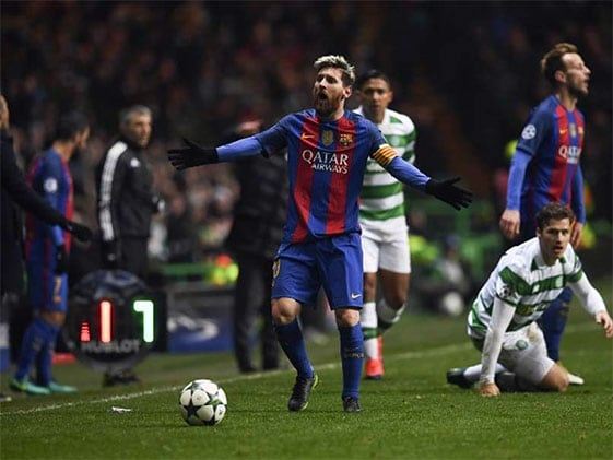 Messi Haunts Atletico Madrid Once More To Send Barcelona Top