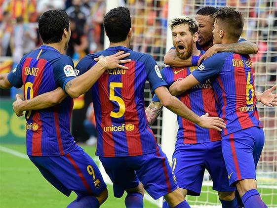 Barcelona End Real Sociedad Hoodoo As Atletico Madrid Cruise