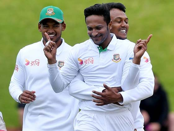 Shakib Al Hasan Magic Cleans Out New Zealand Middle Order