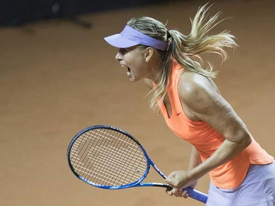 Sharapova Wins On Return After Ban, Says 'Best Feeling In World'
