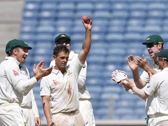 1st Test: O'Keefe's 12-Wicket Haul Helps Australia Thrash India