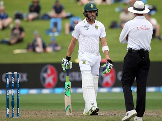 3rd Test: South Africa Recover From Poor Start vs New Zealand