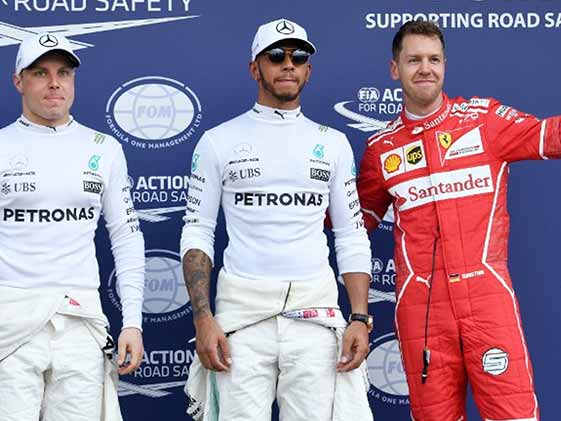 Lewis Hamilton On Pole For Australian GP With Record Lap