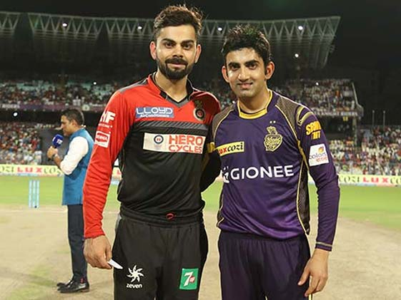 IPL Live Score: Kolkata Knight Riders vs Royal Challengers Bangalore