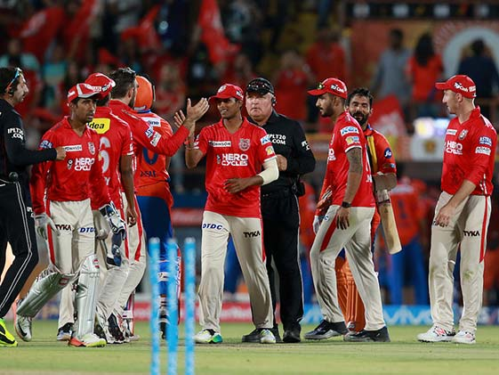 IPL 2017: Bowlers Guide Punjab To 26-Run Victory Vs Gujarat Lions
