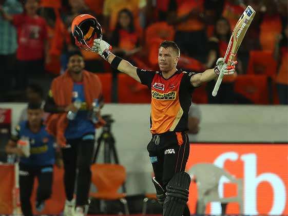 IPL 2017: Warner Smashes 3rd Century, Kolkata Feel The Heat