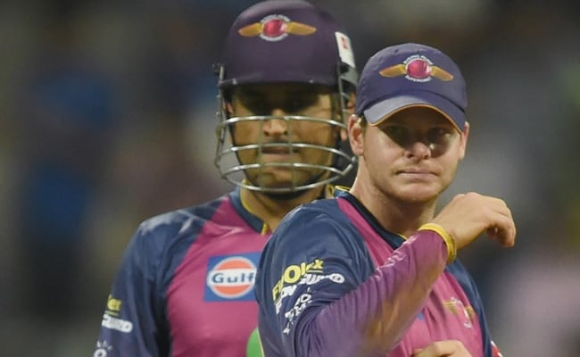 Watch: Captain Smith Rushes To Dhoni For Advice Before Tense Final Over