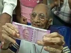 No Good Son Will Ever Want This: Congress On PM Modi's Mother Visiting Bank