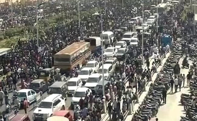 For Jallikattu, Massive Protests In Chennai For Over 20 Hours: 10 Developments