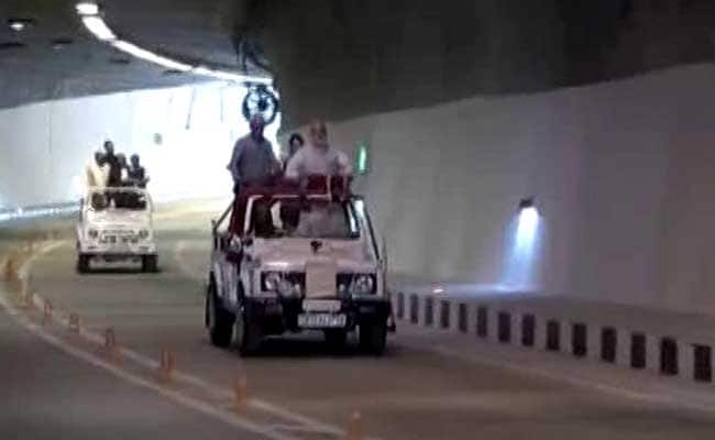 प्रधानमंत्री नरेंद्र मोदी ने किया देश की सबसे लंबी 'चेनानी-नाशरी सुरंग' का उद्घाटन, जानें इसकी ख़ासियतें