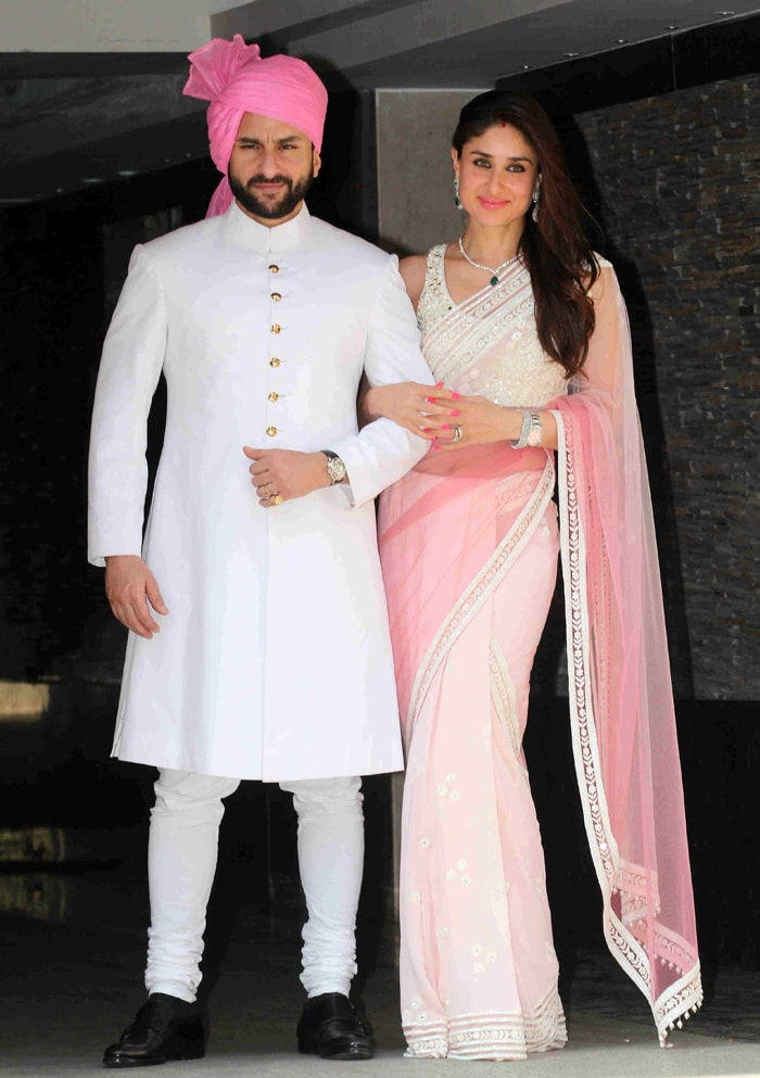Soha Ali Khan Marries Kunal Khemu Saif Kareena Play Hosts Ndtv