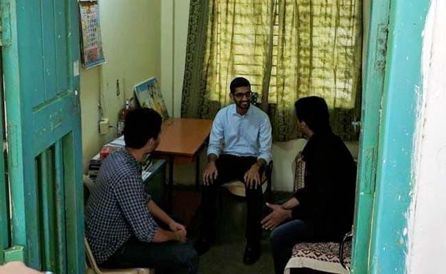 Sundar Pichai Turns Nostalgic At Alma Mater, Visits Hostel Room