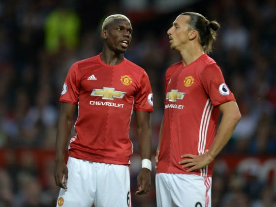 Ibrahimovic's Banter With Paul Pogba Goes Viral On Twitter