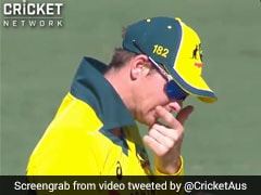 Watch: Steve Smith Accused Of Using Lip Balm On Ball During ODI Loss