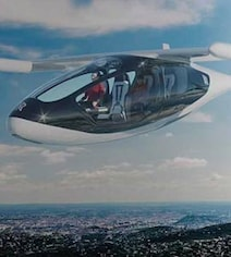 Made By Rolls Royce, This Flying Taxi Takes Off Vertically