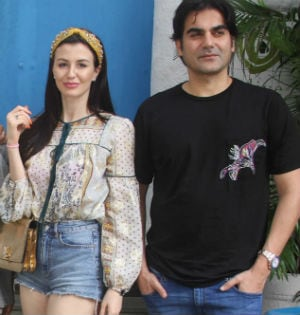 Arbaaz Khan's Weekend With Rumoured Girlfriend Giorgia Andriani