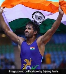 Wrestler Bajrang Punia Wins First Gold For India In Asian Games 2018