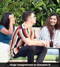 Priyanka Chopra, Nick Jonas' Double Date With Sonam Kapoor, Anand Ahuja