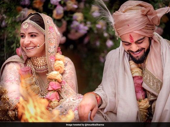 Virat Kohli, Anuskha Sharma Get Married In Italy, Tweet Pictures