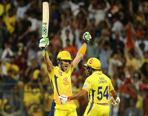 IPL 2018: Du Plessis Powers CSK To Final After Win Over SRH