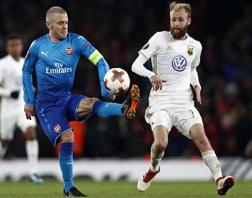 Europa League: Arsenal Through To Last 16 After Surviving Ostersunds Scare