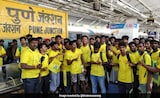 CSK's Imran Tahir Gets Emotional As 'Whistle Podu Express' Reaches Pune