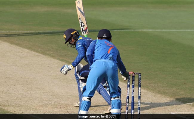Watch: How Dhoni's Flash Of Brilliance Turned The 3rd ODI Around