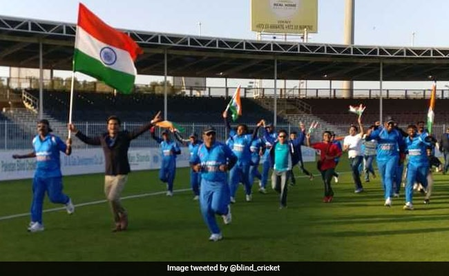 India Beat Pakistan In Blind Cricket World Cup To Lift Title