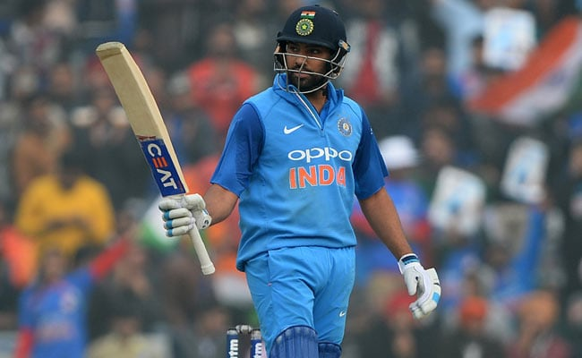 Rohit Sharma Seals ODI Legend Status With 3rd Double Century