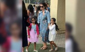 अक्षय कुमार की बेटी नितारा मम्मी के साथ मस्ती करती आईं नज़र, देखें Photos