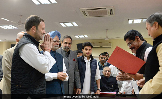 Rahul Gandhi Could Be Congress Boss Today; It's Democratic, Say Leaders