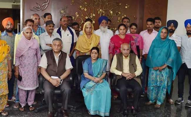 इराक में 39 भारतीयों का मौत पर सुषमा स्वराज ने कांग्रेस से पूछा, क्या मौत पर भी राजनीति करेंगे?