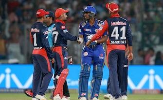 Delhi Daredevils Win By 11 Runs, Mumbai Indians Eliminated