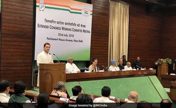 Alliances On Congress Radar At Meet of Revamped Decision-Making Body