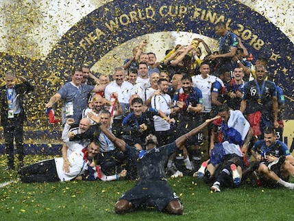 France Beat Croatia To Lift World Cup 2018