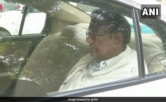 P Chidambaram At Probe Agency Office For Questioning In INX Media Case