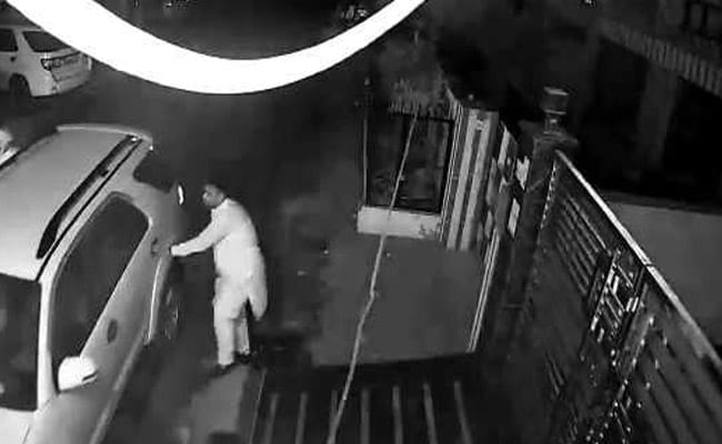 CCTV footage shows Amritsar event organiser fleeing home after tragedy. Read here