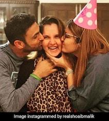 Shoaib Malik Shares Heart-Warming Photo With Sania Mirza On Her Birthday