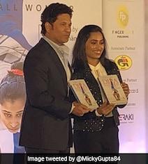 Sachin Tendulkar Launches Dipa Karmakar's Biography. See Pictures