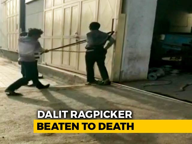 Video : On Video, Dalit Man Tied Up, Flogged In Gujarat. He Died, Wife Critical