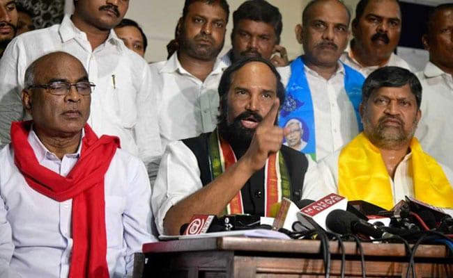 तेलंगाना में कांग्रेस, TDP और CPI ने बनाया गठबंधन, राष्ट्रपति शासन की मांग की