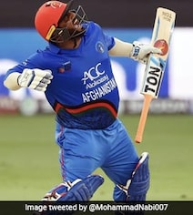 Watch: Mohammad Shahzad's 16-Ball 74 Sets T10 League On Fire