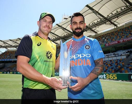 India vs Australia 1st T20I Live Cricket Score