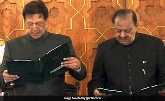 As Imran Khan Takes Oath, A New Innings Begins For Pak: 10 Points