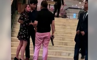 Watch: BSP Leader's Son Waves Gun, Abuses Woman At Delhi 5-Star Hotel