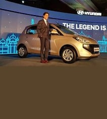 Hyundai Santro Launched At Rs 3.89 Lakh; Has 9 Variants, Including CNG