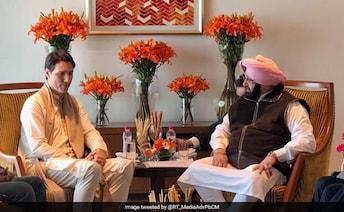 In Meeting With Justin Trudeau, Amarinder Singh Raises 'Khalistan Issue'