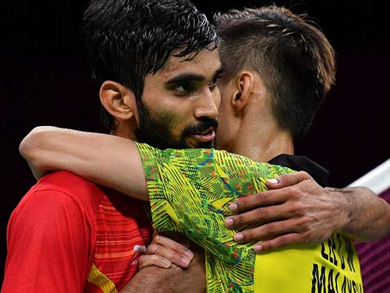 Silver For Kidambi As Lee Chong Wei Claims Mens Singles Gold