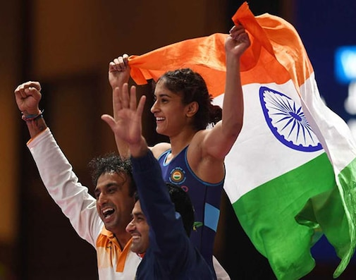 Asian Games: Vinesh Wins India's Second Gold; Shooters Add Two Silvers